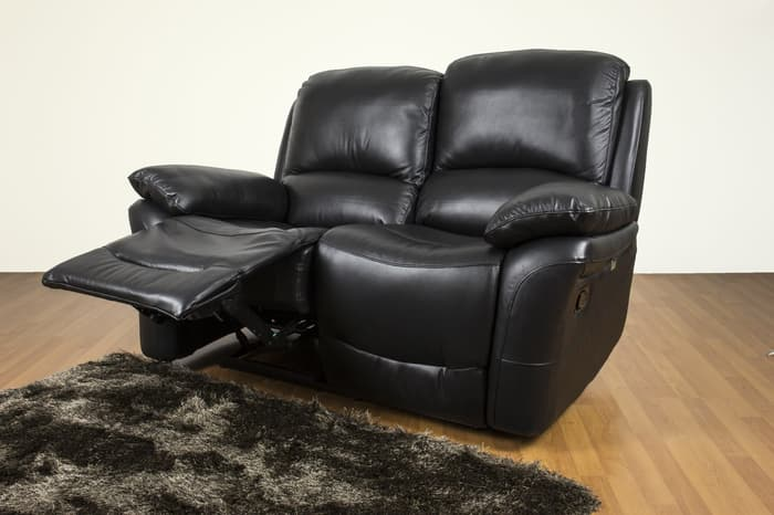 Valeria Sofa Recliner 2 Kursi Black