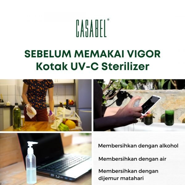 UVC STERILIZER BOX KOTAK STERIL STERILISASI