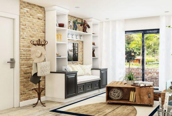 Desain Ruang Tamu Minimalis Terlihat Natural